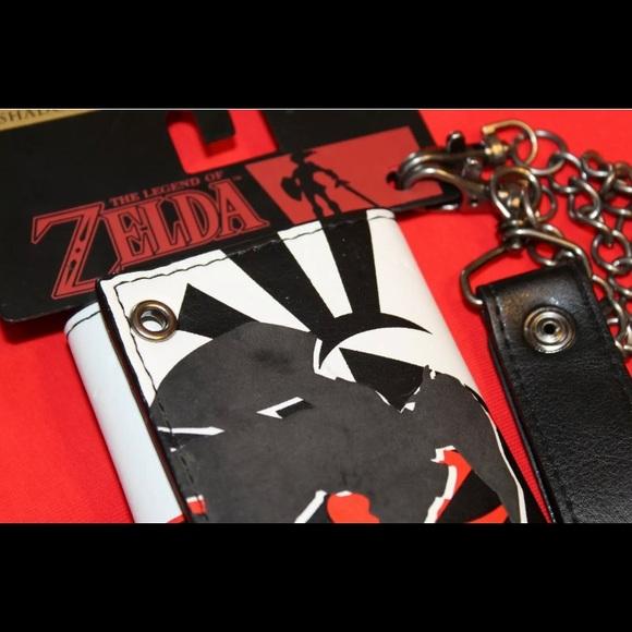 The Legend of Zelda Shadow Link Logo Bi Fold WALLET